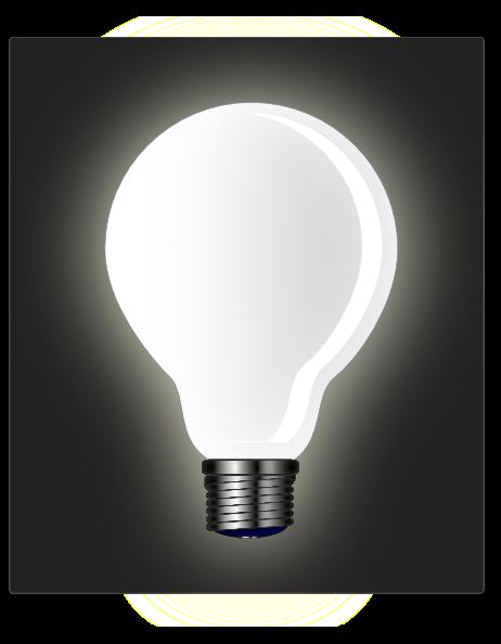 White Light Bulb Clip Art at Clker.com - vector clip art ...