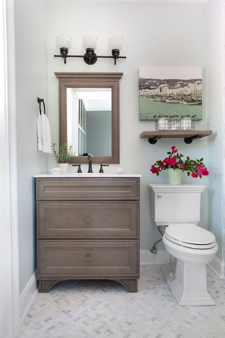 Guest Bathroom Reveal - Bower Power