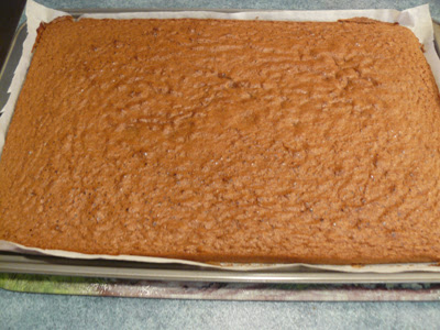 Baked Cocoa Genoise