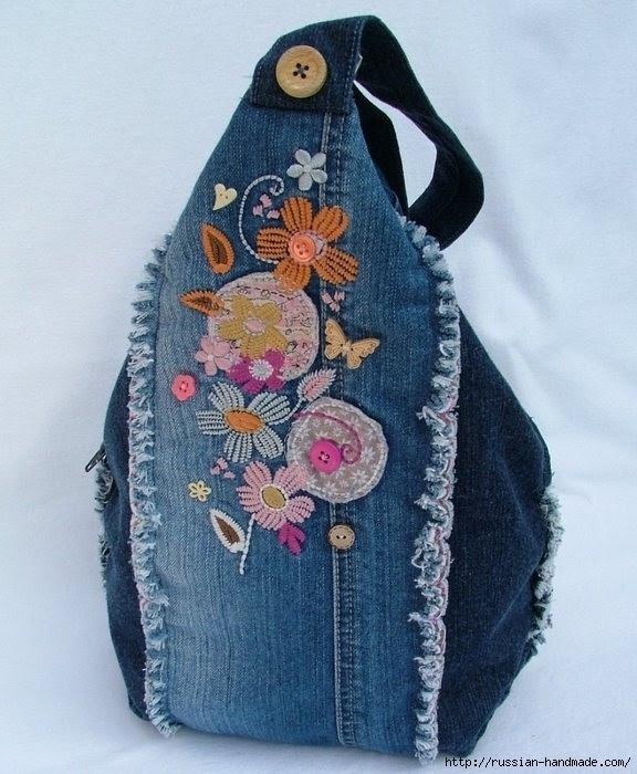 Модные сумки из старых джинсов (25) (576x700, 226Kb)