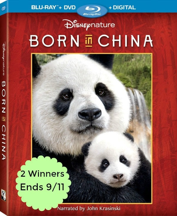 Born In China Giveaway, blu-ray dvd