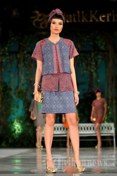 45+ Model Baju Batik Keris Wanita Modern Terbaru 2021 ...
