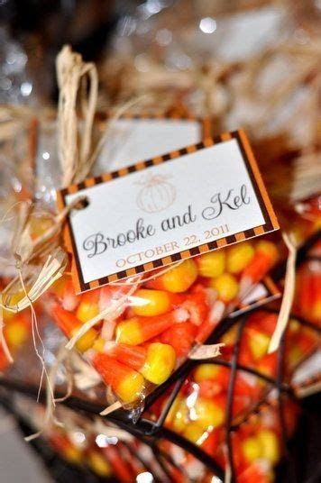 Fall Wedding Favors: 24 Original and Affordable Ideas You