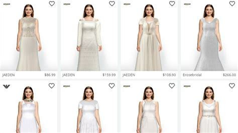 Amazon, Zeekit partner for virtual wedding dress try on