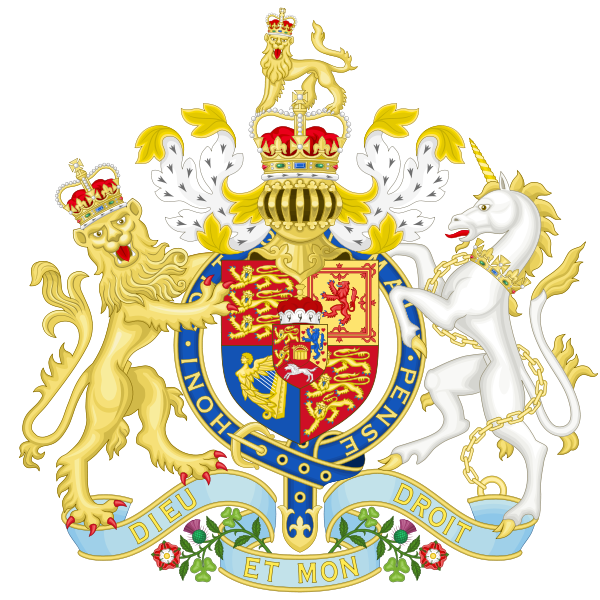 Archivo:Coat of Arms of the United Kingdom (1801-1816).svg