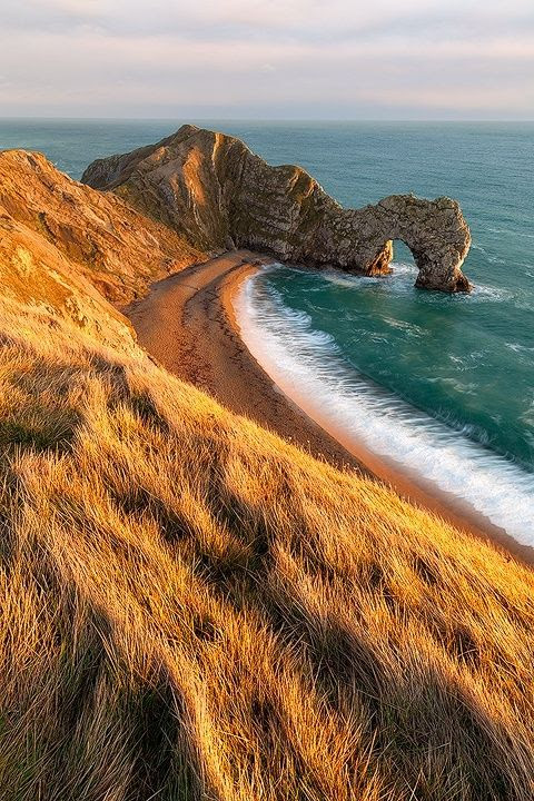 Coastal View, Dorset,                                                            England   Most                                                            Beautiful                                                            Pages