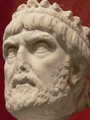 Royal bust eastern Roman Empire