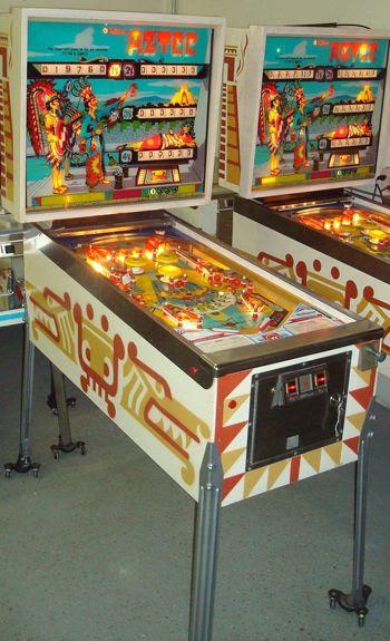 *pinball machines