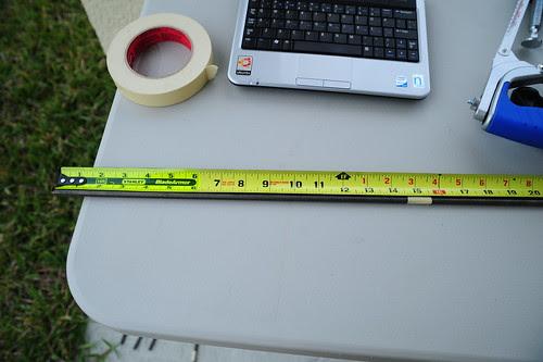 Measure 5 times!