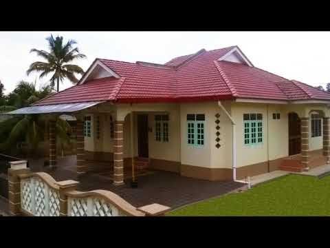 berikut desain rumah cantik di pedesaan, video rumah