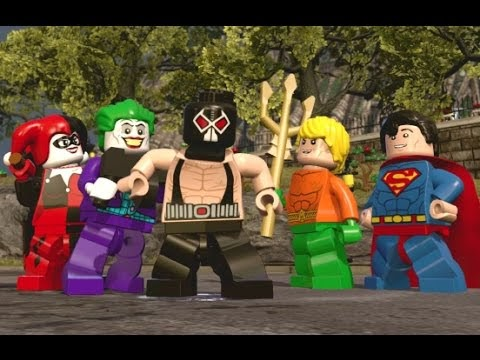 Lego Dimensions Dc Comics Characters
