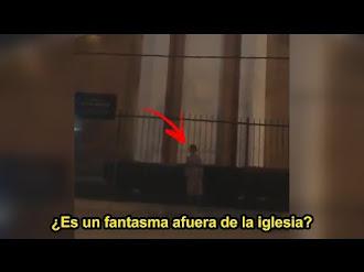 FANTASMA de una NIÑA se Aparece en una Iglesia (VIDEO REAL)