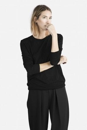 Everlane Luxe Long Sleeve Sweater
