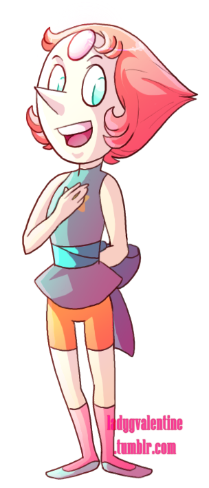 An old bookmark/charm of Pearl ^^ Enjoy =D