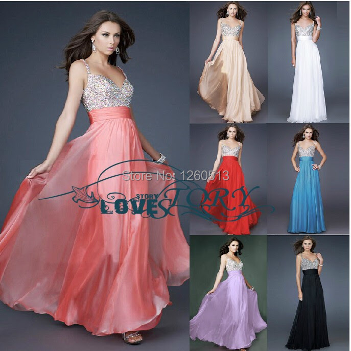 Evening dresses from europe