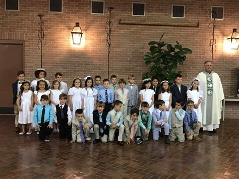 First Communion Mar 11 2017   Sacred Heart of Jesus   New