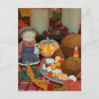 Scarecrow Postcard postcard