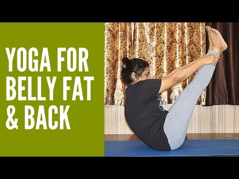 vibrant varsha yogasan for belly fat  back pain  3 easy