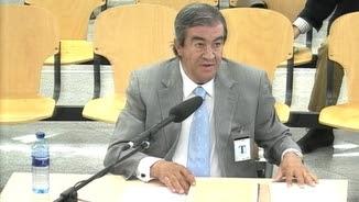 Álvarez-Cascos, aquest matí, declarant davant del tribunal