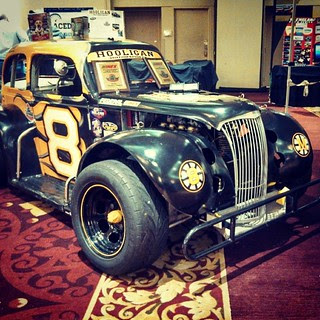 #8 Hooligan Motorsports US Legends Car at The Racers Expo