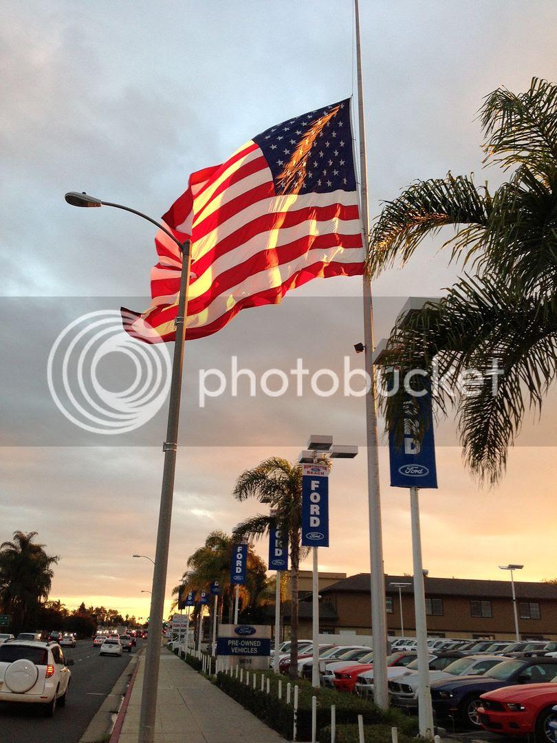 Huntington Beach Flag