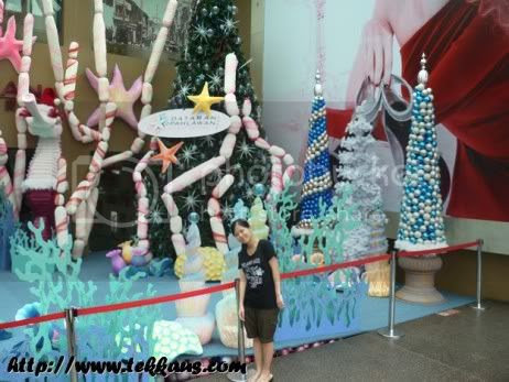 Christmas Under The Sea At Dataran Pahlawan