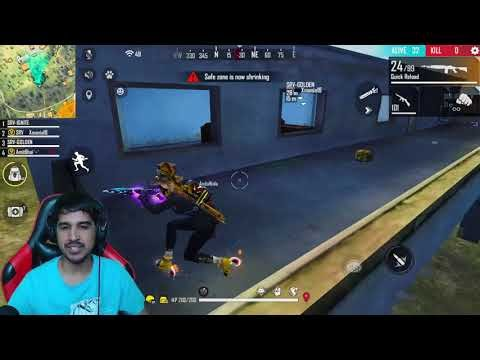 FREE FIRE LIVE WITH AMITBHAI || DESI GAMERS