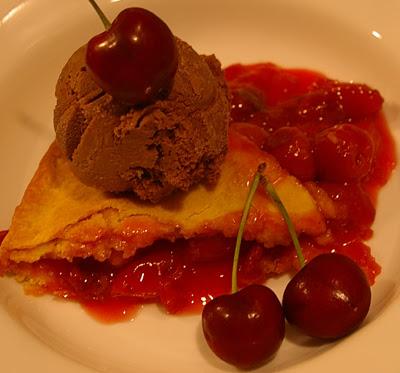 Cherry Pie à la Mode