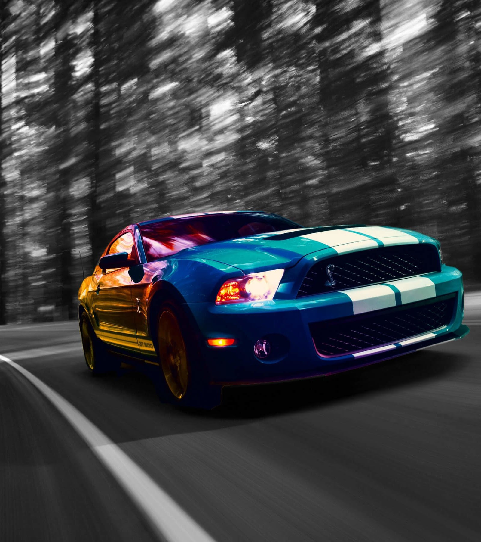 Ford Mustang Shelby Gt500 Wallpapers Hd