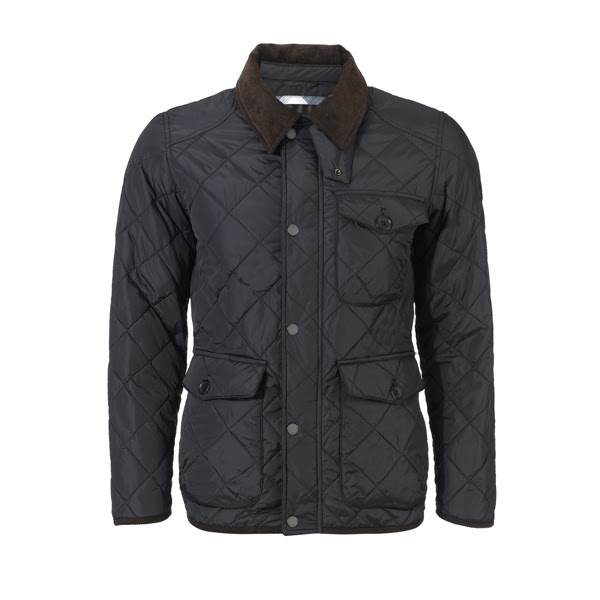 Quilted Coat Mens Ben Sherman Long Sleeved Quilted Jacket