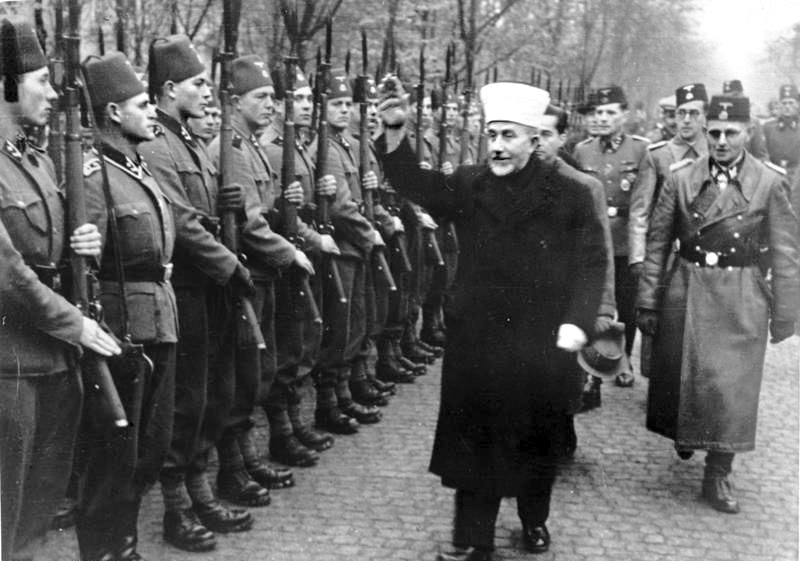 File:Bundesarchiv Bild 146-1980-036-05, Amin al Husseini bei bosnischen SS-Freiwilligen.jpg