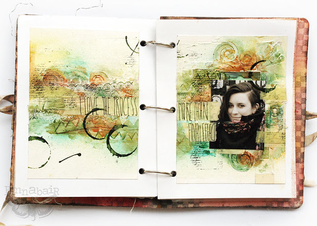 Freestyle journal sample - with Sizzix