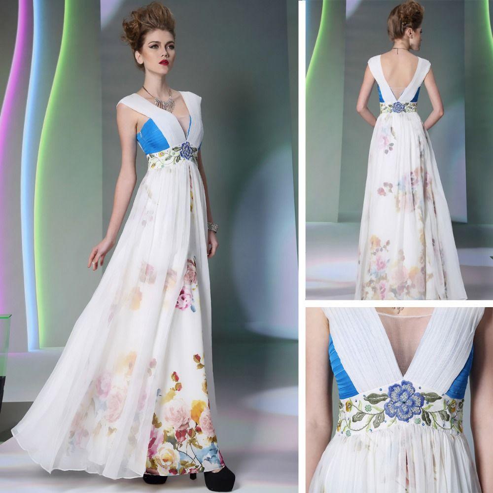 Evening dresses for spring