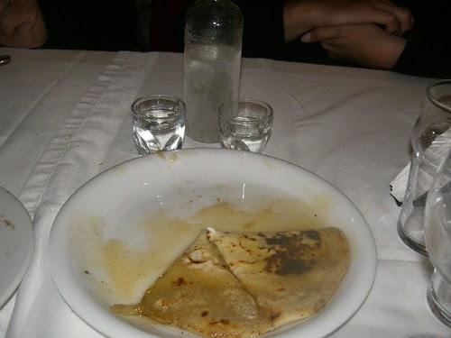 sfakiani pita and tsikoudia raki haniachania