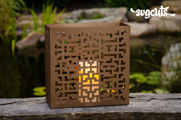 New Lantern FREE Design from SVGCuts