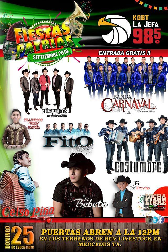 Festival - Rio Grande Valley Livestock Show - Mercedes, Tx ...