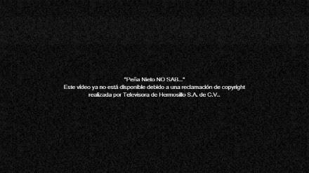 La censura de Youtube a la pifia de Peña sobre el IFAI. Foto: Youtube.com