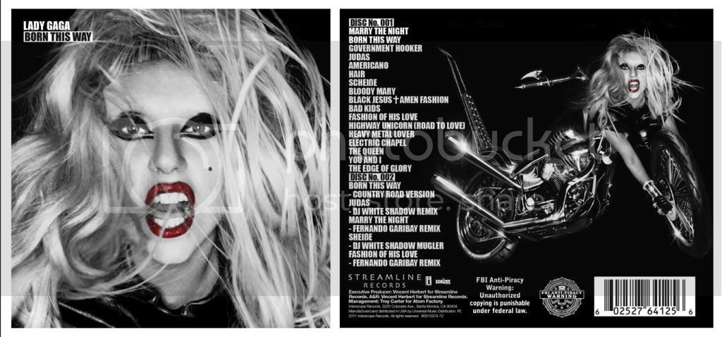 lady gaga born this way deluxe artwork. pictures Lady GaGa Born This