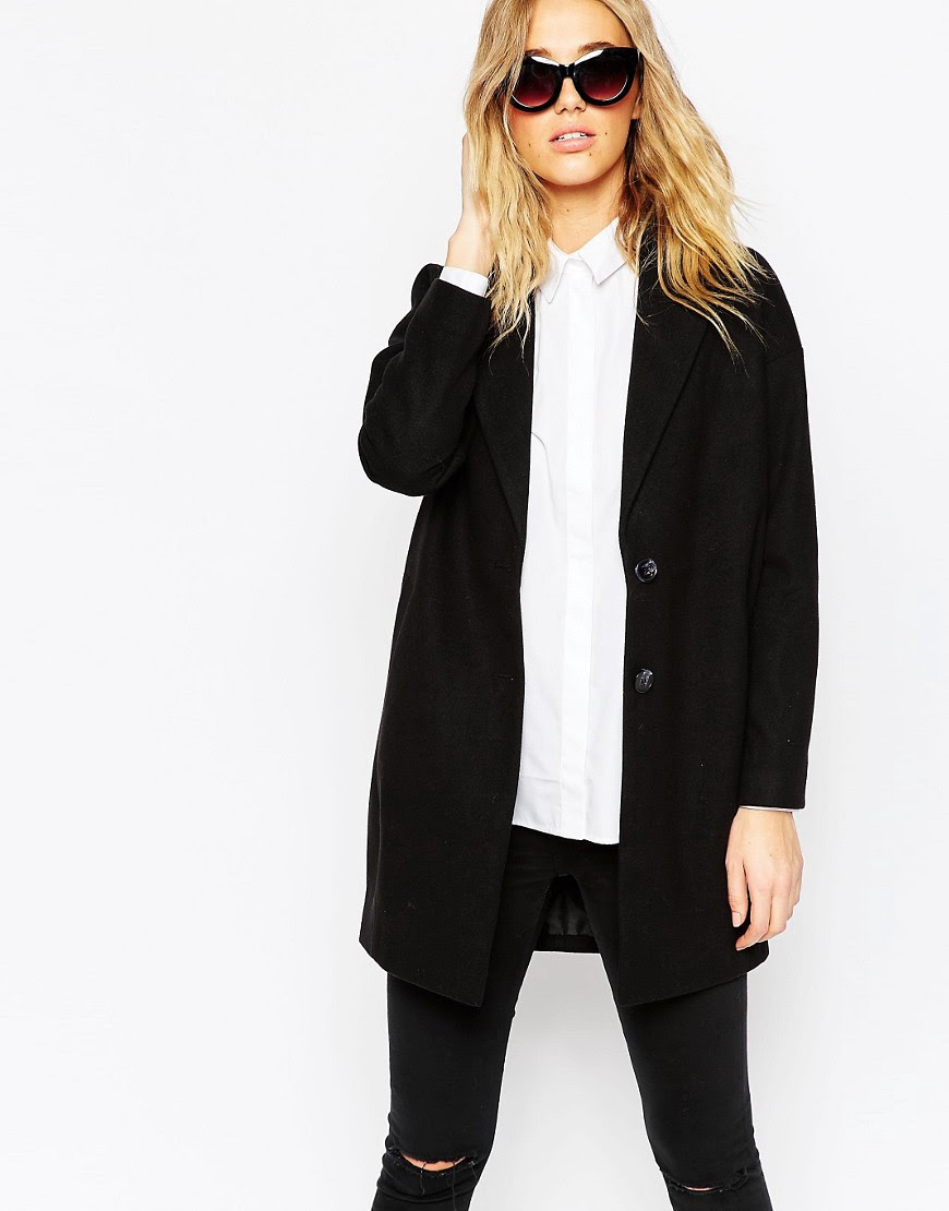 Image 1 of ASOS Ultimate Cocoon Coat