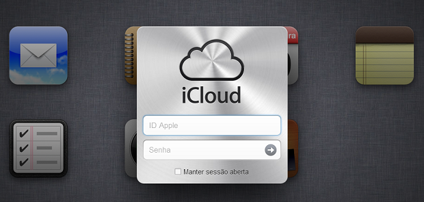 Faça login para entrar no iCloud (Foto: Reprodução/Aline Jesus) (Foto: Faça login para entrar no iCloud (Foto: Reprodução/Aline Jesus))