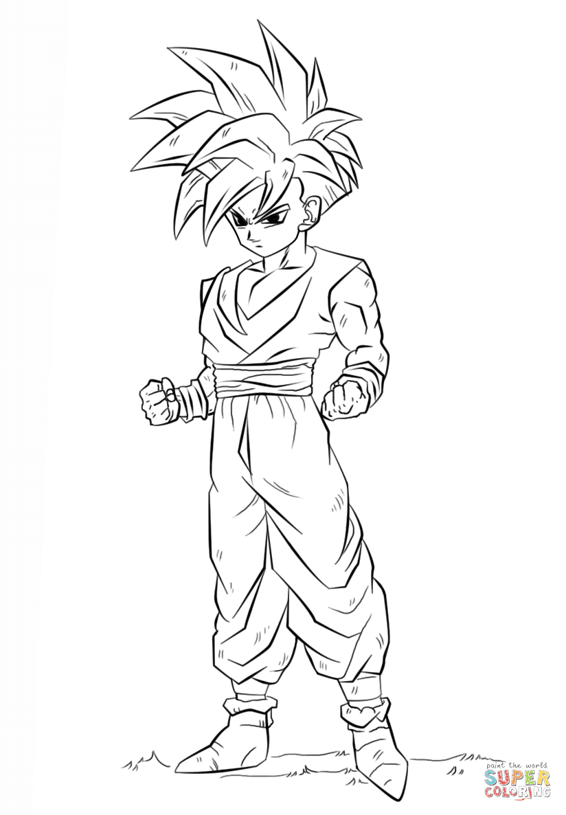 the Dragon Ball Z Gohan