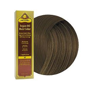 Amazon.com : One 'N Only Argan Oil Hair Color 6N Dark ...