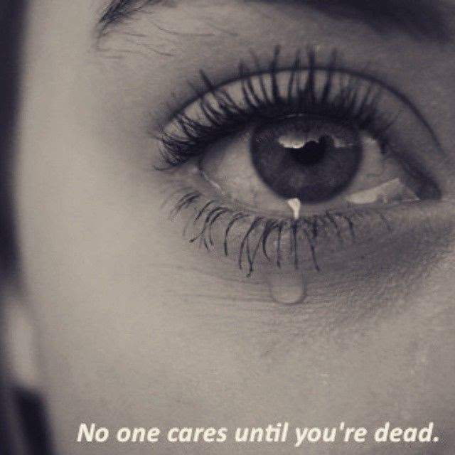 No One Cares Until Youre Dead Pictures Photos And Images For