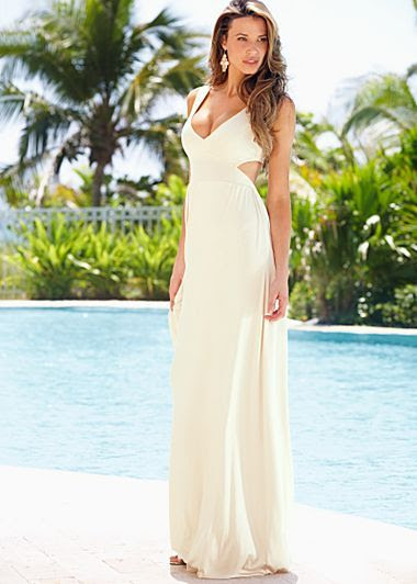 Venus Open Back Maxi Dress