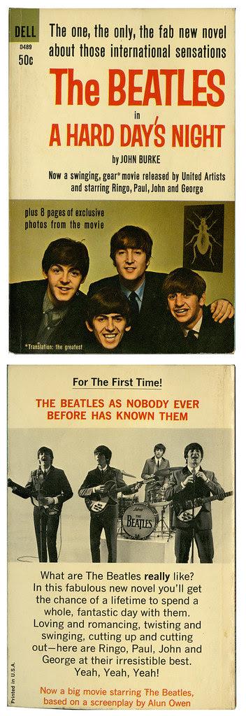 The Beatles_A HARD DAY'S NIGHT_tatteredandlost