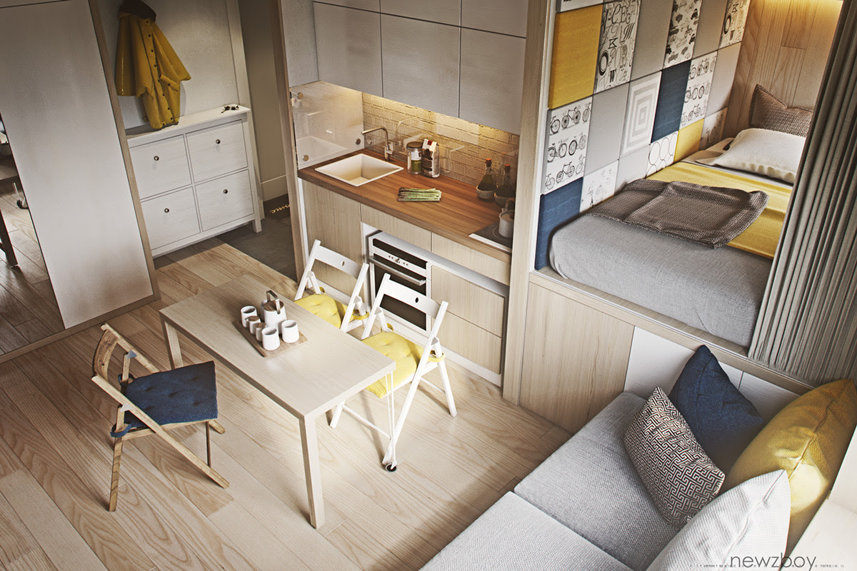 180+ Ide Desain Apartemen 5x5 Paling Hist