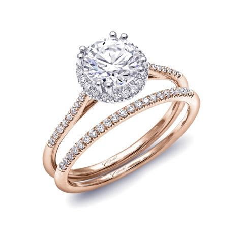 Engagement ring #LC5403RG   Rose Gold Collection   Coast