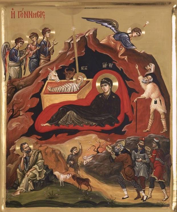 Αποτέλεσμα εικόνας για χριστουγεννα στο αγιο οροσ