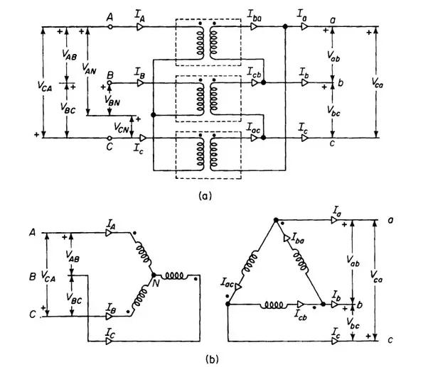 Connection Diagram Of Star Delta Transformer