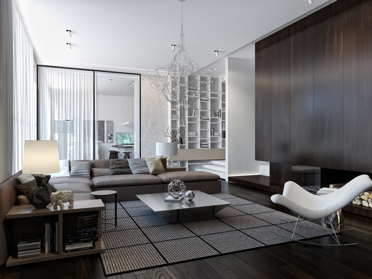 26 Modern Style Living Rooms & Ideas in Pictures « Home ...